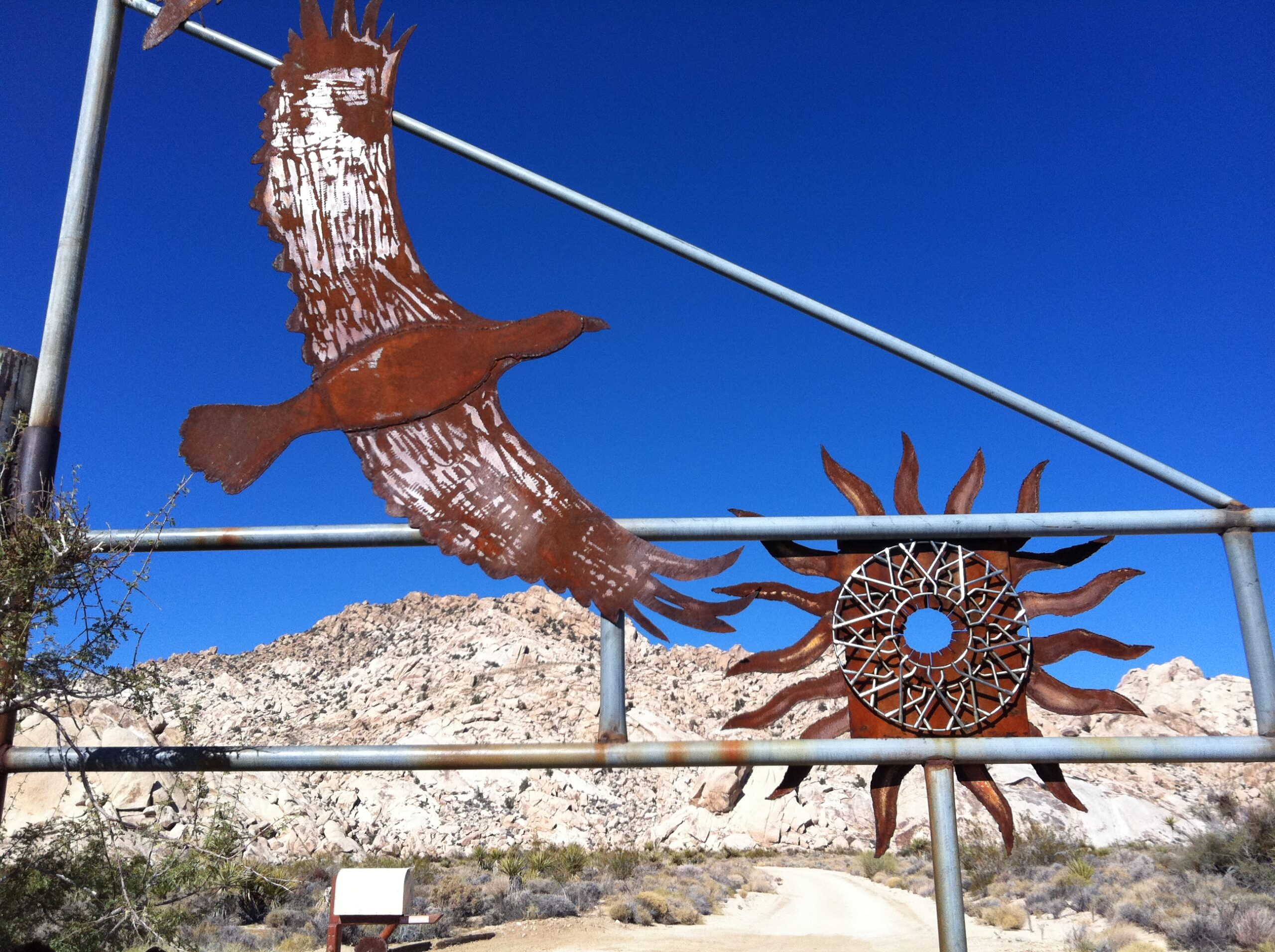 01. Gate to Granite Mountains Research Center