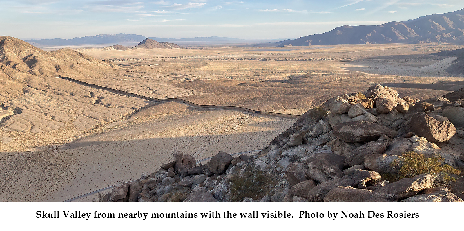 Skull Valley with caption